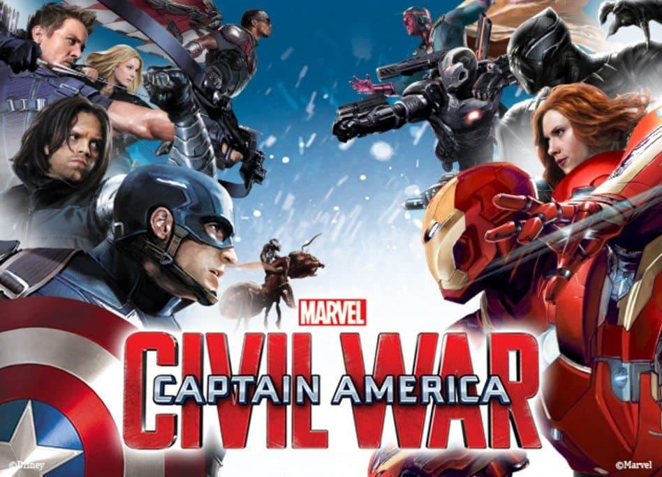 Promo capitan america Civil war