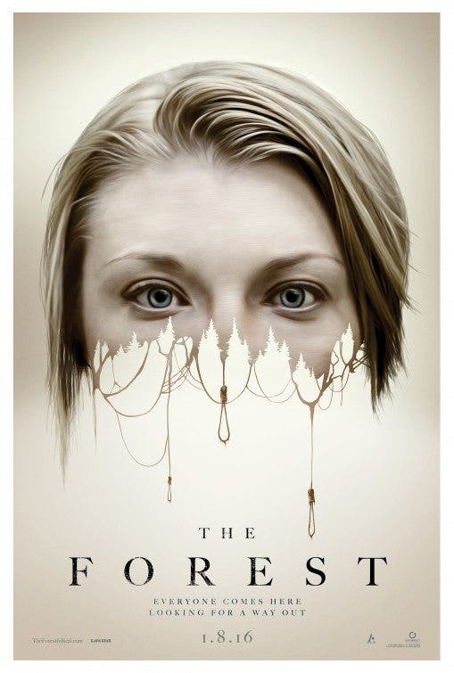 The Forest Poster (El bosque de los suicidios)