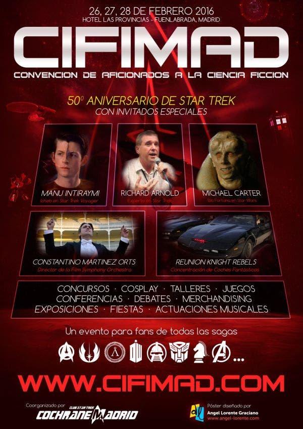 Cartel de la convención CIFIMAD
