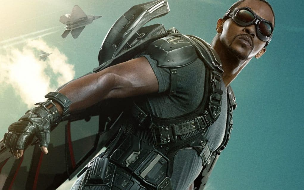 anthony mackie falcon 'Capitán América: Civil War'