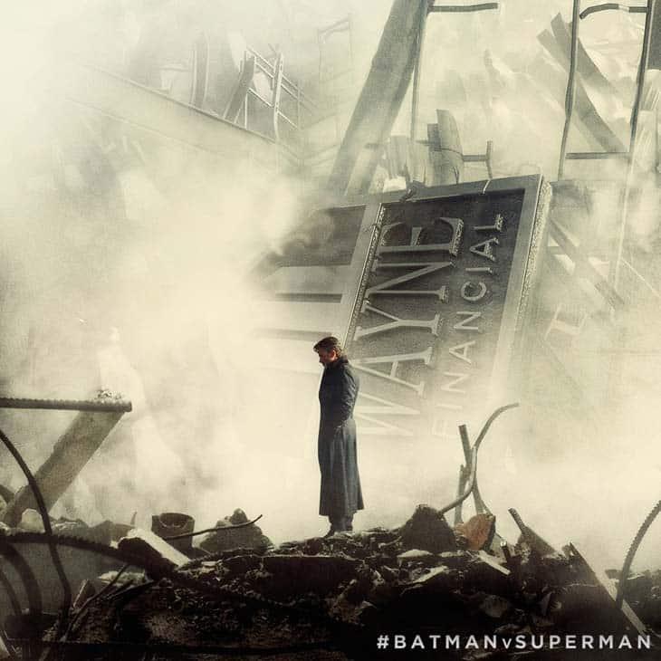 Ben Affleck en Batman v Superman: El amanecer de la justicia