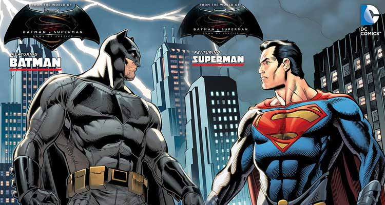 Comic Batman v Superman