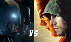 DC cine vs DC televisión