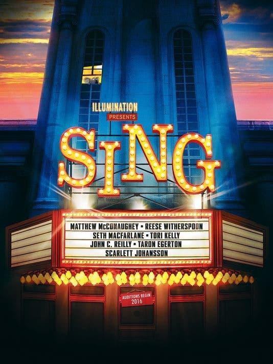 Póster de Canta (Sing)
