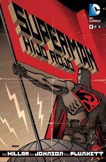 Portada 'Superman: Hijo rojo'
