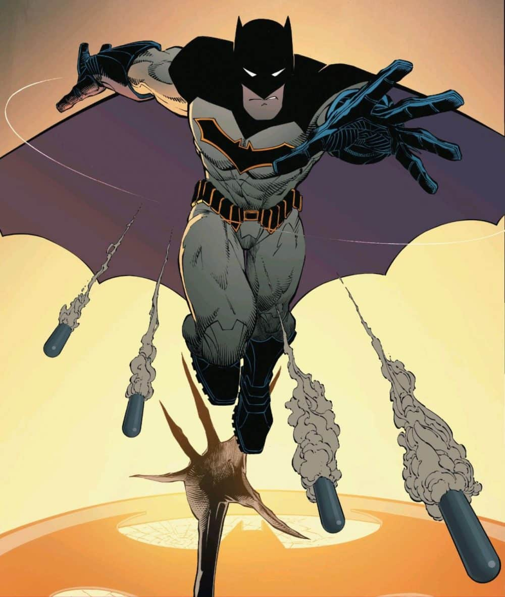 Batman Rebirth Greg Capullo