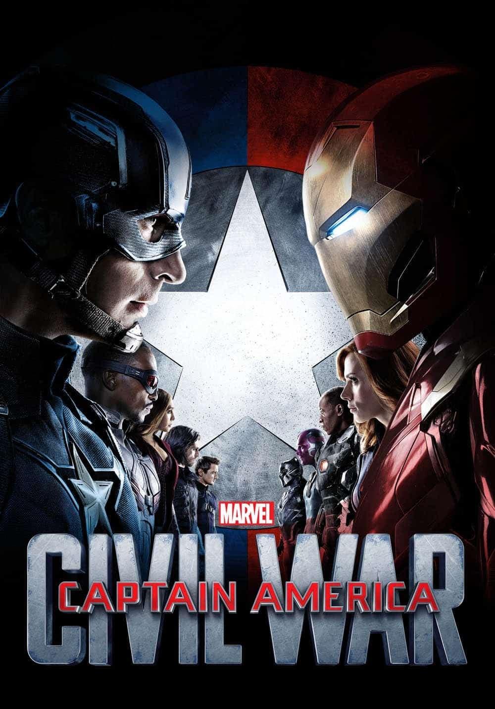 Póster Capitán América: Civil War