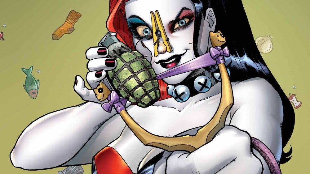 Harley Quinn - comics - DC Comics Batman Rebirth Greg Capullo Caballero Oscuro DC Comics
