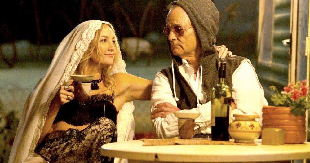 Kate Hudson y Bill Murray en Rock The Kasbah