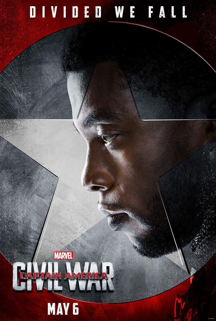 Pantera negra civil war Capitán América: Civil War