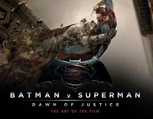 Portada Batman v Superman: Dawn of justice - The Art of the film