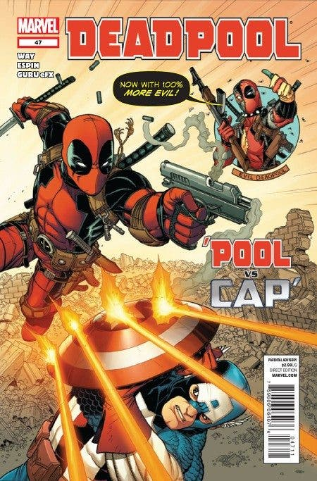 Portada Salva Espín Deadpool