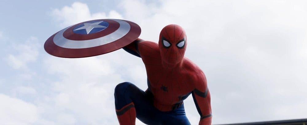 Spider-man en el nuevo tráiler de Capitán América Civil War