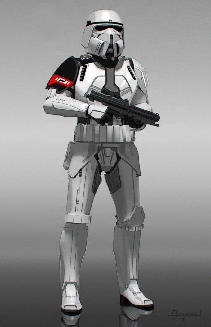 Concept art de Star Wars: El despertar de la fuerza
