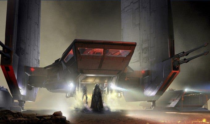 Star Wars The Force Awakens Concept Art ILM