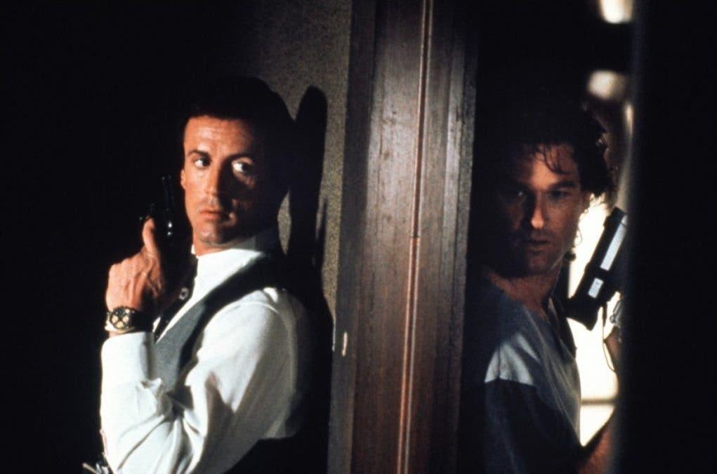Sylvester Stallone y Kurt Rusell en tango y cash