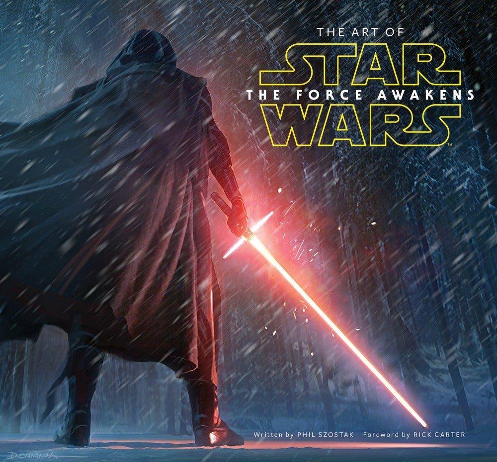 Portada de The art of Star Wars The Force Awakens