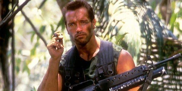 Arnold Schwarzenegger the predator