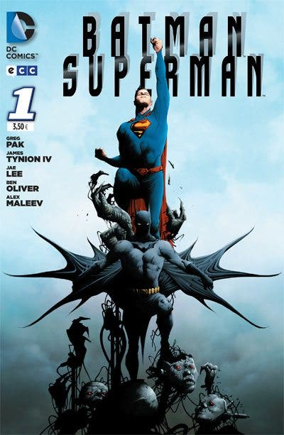 Portada Batman Superman 1