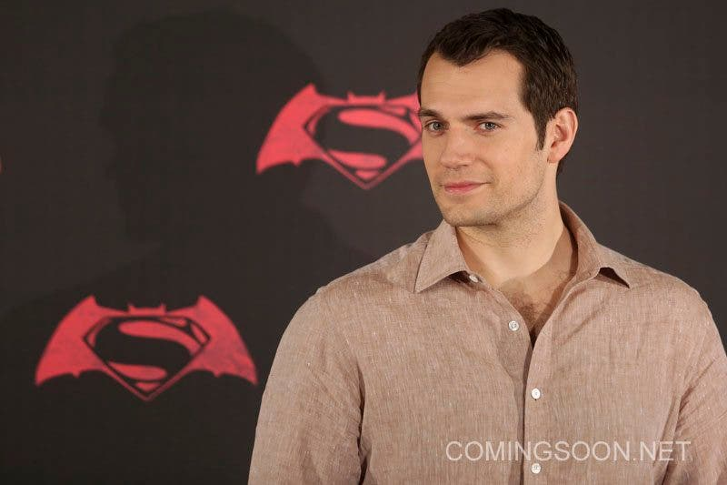 MEXICO CITY, MEXICO - MARCH 19: British actor Henry Cavill poses for pictures during the Batman v Superman Movie photocall at Hotel St Regis on March 19, 2016 in Mexico City, Mexico. (Photo by Hector Vivas/LatinContent/Getty Images)