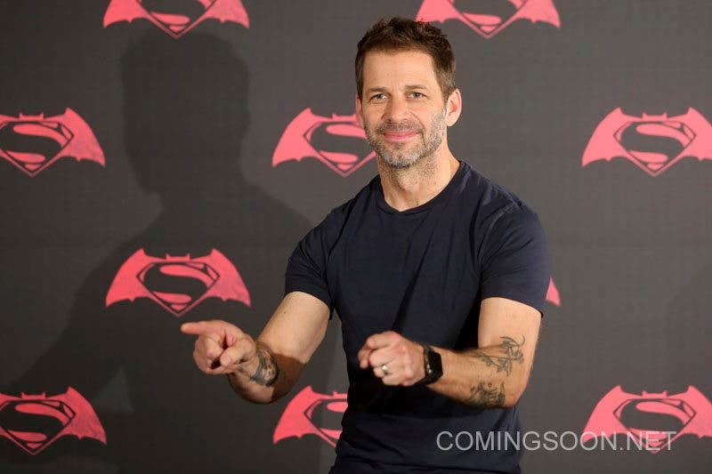 MEXICO CITY, MEXICO - MARCH 19: American film director Zach Snyde gestures during the Batman v Superman Movie photocall at St Regis Hotel on March 19, 2016 in Mexico City, Mexico. (Photo by Hector Vivas/LatinContent/Getty Images)