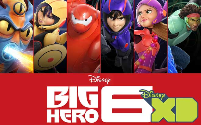 Big Hero 6 - 6 héroes
