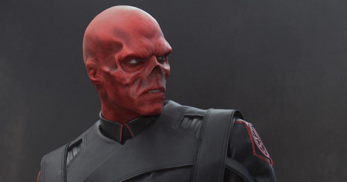 cráneo rojo en capitán américa: Civil war