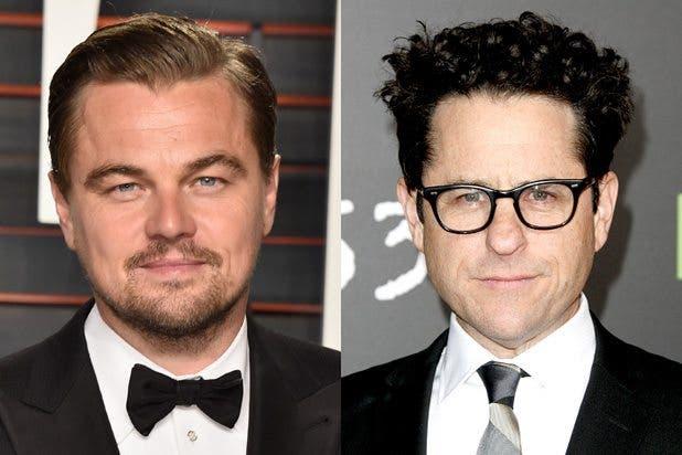 Leonardo DiCaprio y JJ Abrams
