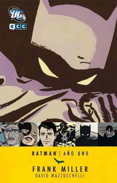 portada Batman año uno de Frank Miller