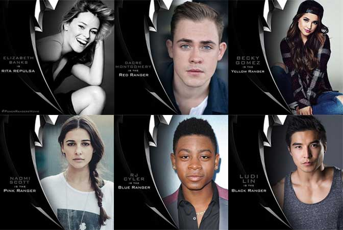 Cast de Power Rangers
