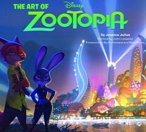 portada the art of zootopia (zootropolis)