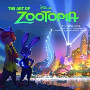 portada the art of zootopia