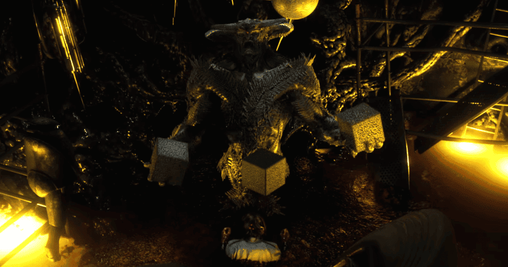 Steppenwolf en Batman v Superman