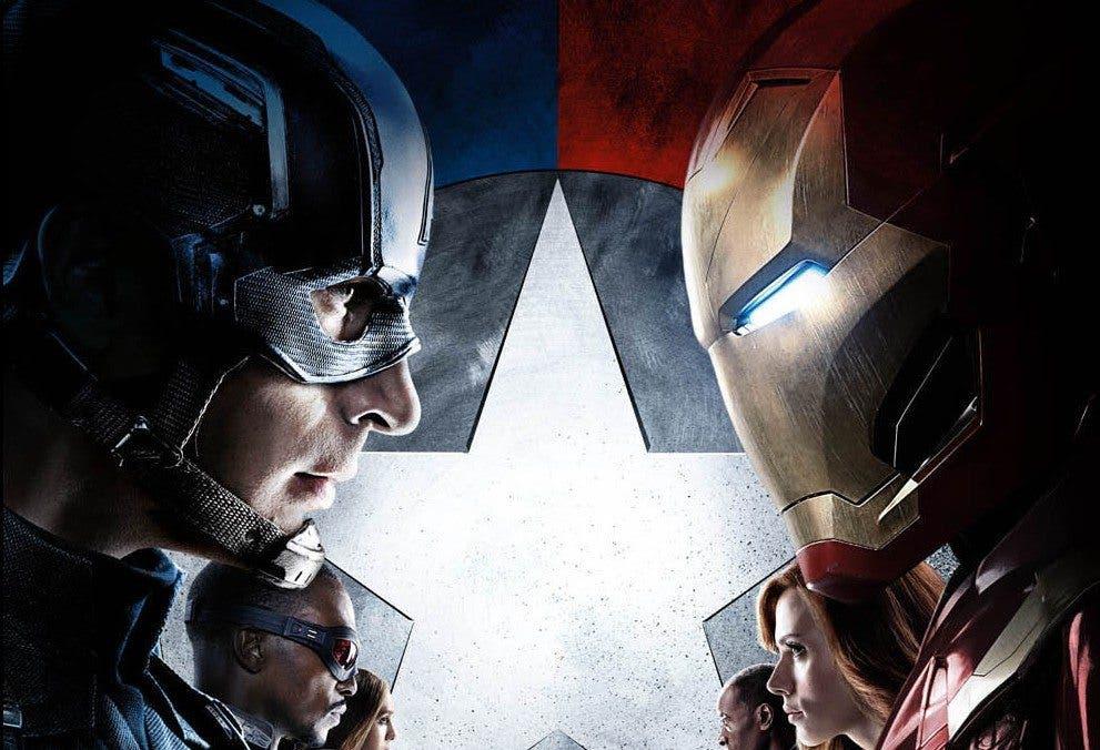 Cine de superhéroes Capitán América Civil War
