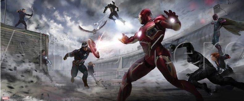 Concept art Capitán América civil War