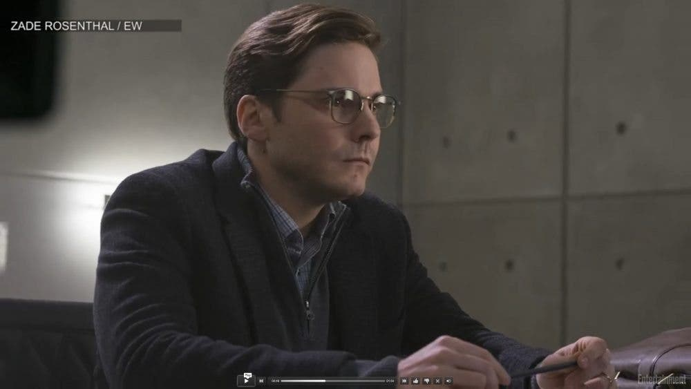 Daniel Brühl como el baron Zemo en Capitán América: Civil War