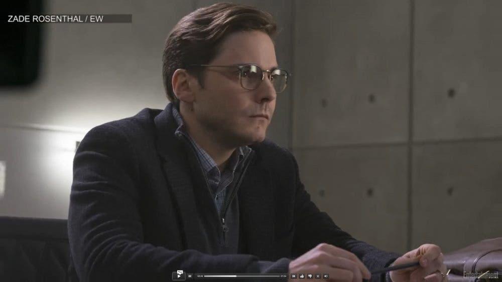 Daniel Brühl como Helmut Zemo en Capitán América: Civil War (Marvel Studios)