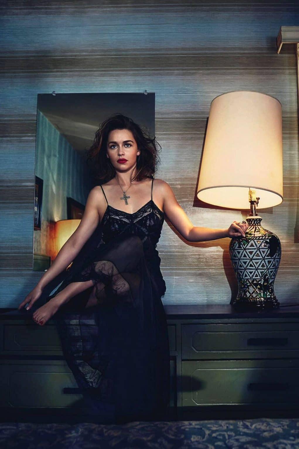 Emilia-Clarke-Vogue