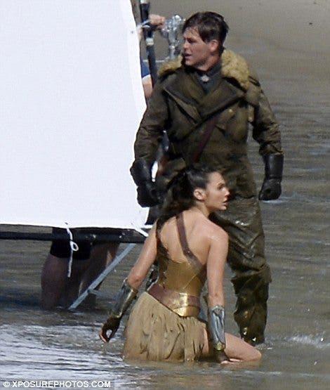 Rodaje de Wonder Woman