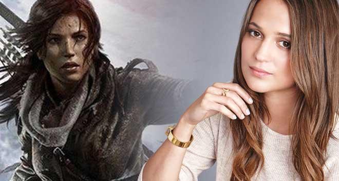 Alicia Vikander será Lara Croft en el reboot de Tomb Raider