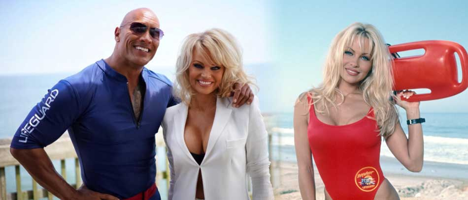 Pamela Anderson Vigilantes de la playa
