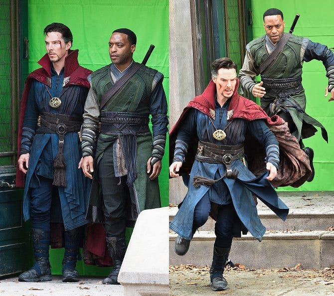 benedict-cumberbatch-films-doctor-strange-in-nyc 1