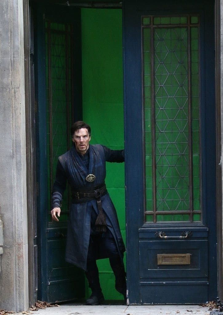benedict-cumberbatch-films-doctor-strange-in-nyc 3