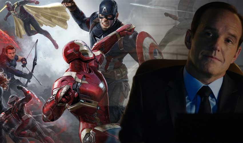 Agentes de SHIELD se une a Capitán América: Civil War