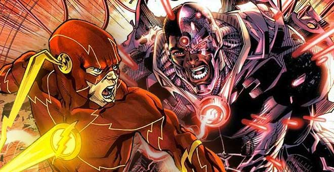 Flash y Cyborg