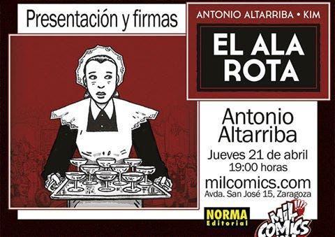el ala rota de Antonio Altarriba