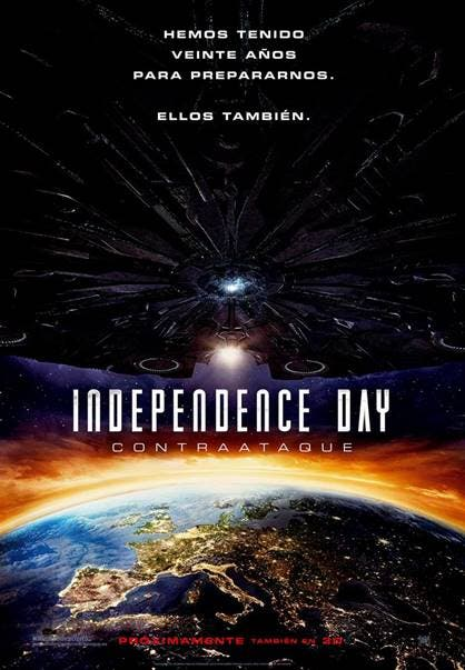 poster independence day contraataque