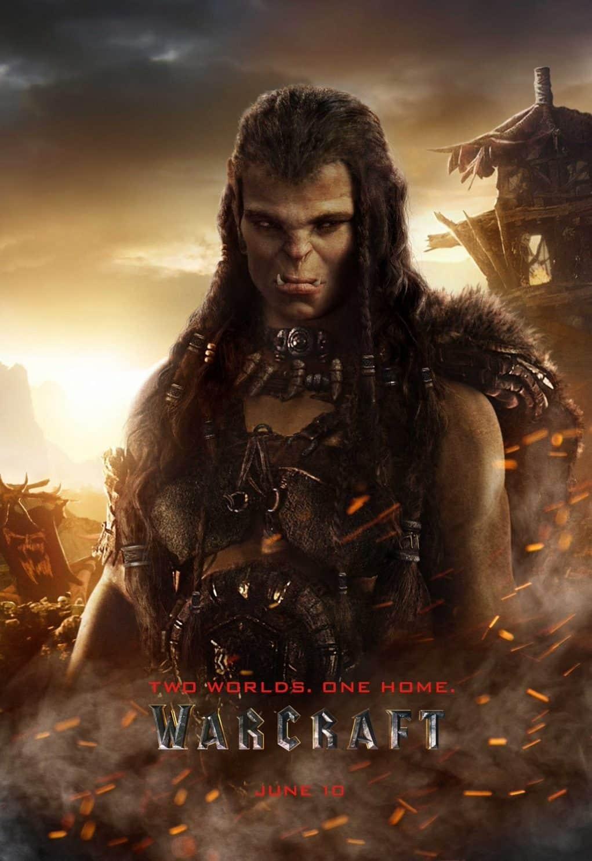 poster warcraft 'DRAKA'