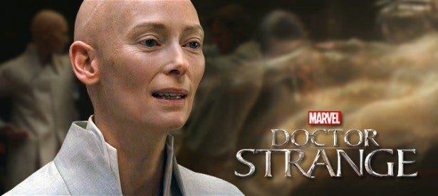 Tilda Swinton en Doctor Strange