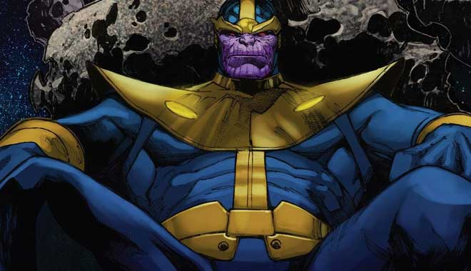 Thanos - Guardianes de la Galaxia